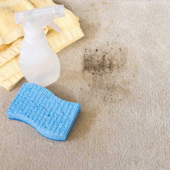 Homemade carpet cleaner popsugar smart living spray the soiled area generously with the carpet cleaner and then gently rub and dab with the towel you should start to see cleaning results right away solutioingenieria Gallery