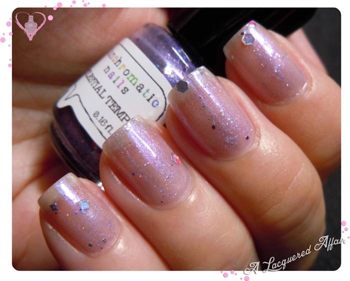 Fanchromatic Nails Celestial Temple, 1 coat
