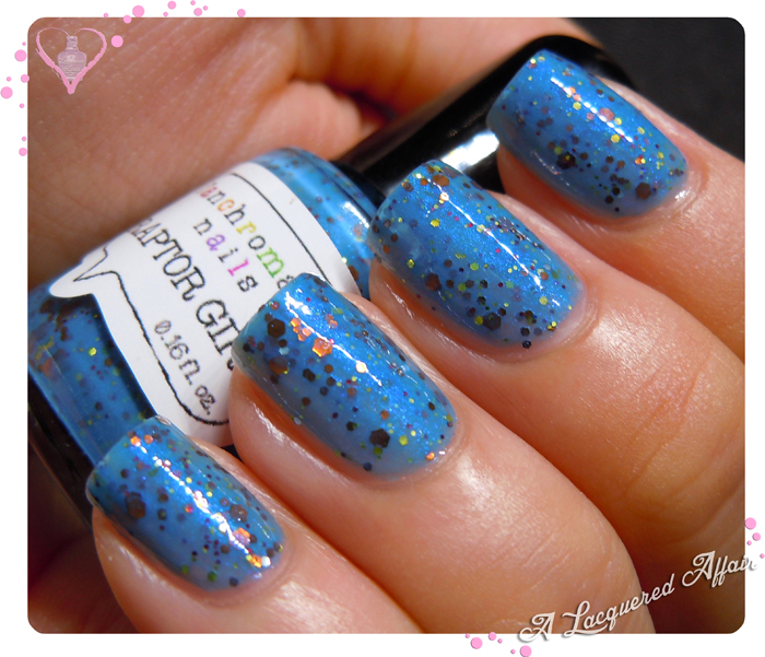 Fanchromatic Nails Raptor Girl