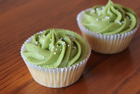 Recipe For Mochi Cupcakes With Green Tea Frosting