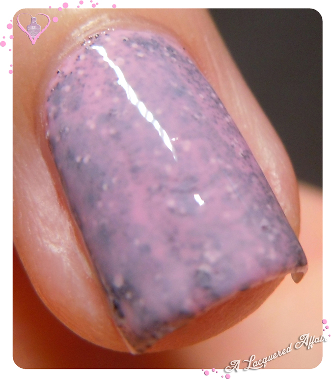 Maya Cosmetics Grayscale in OPI Pink-ing Of You sandwich