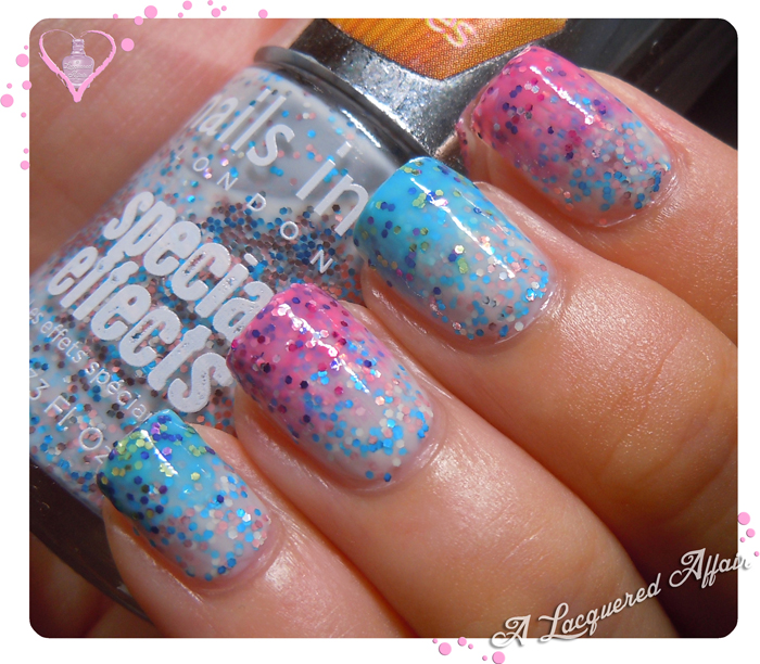 Nails Inc. Sprinkles gradient
