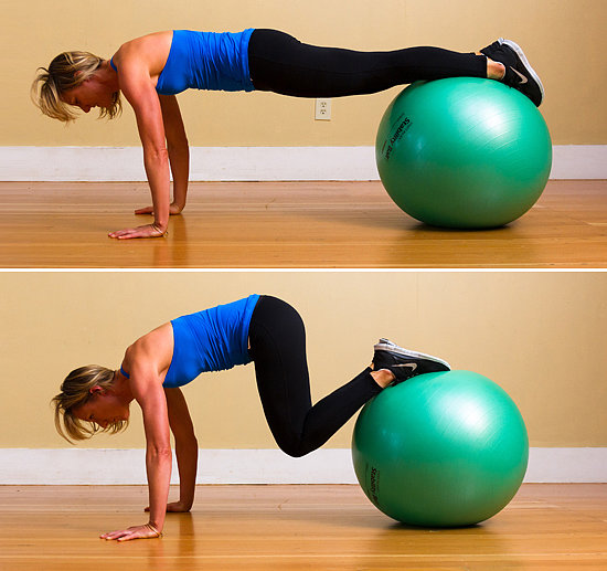 Stability Ball Upper Body Workout: Advanced Push-Up Variations