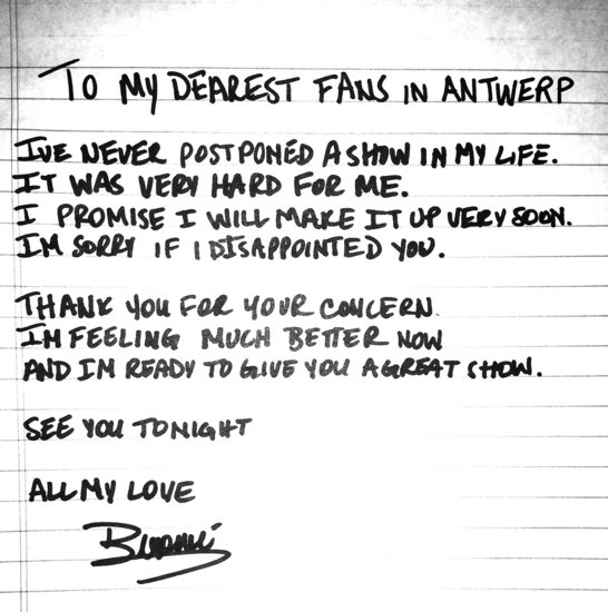 Beyonc Knowles Letter Apologizing to Fans POPSUGAR Celebrity