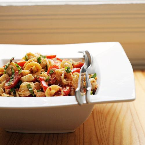 ... salad avocado tomato mozzarella and basil pasta salad with pine nuts