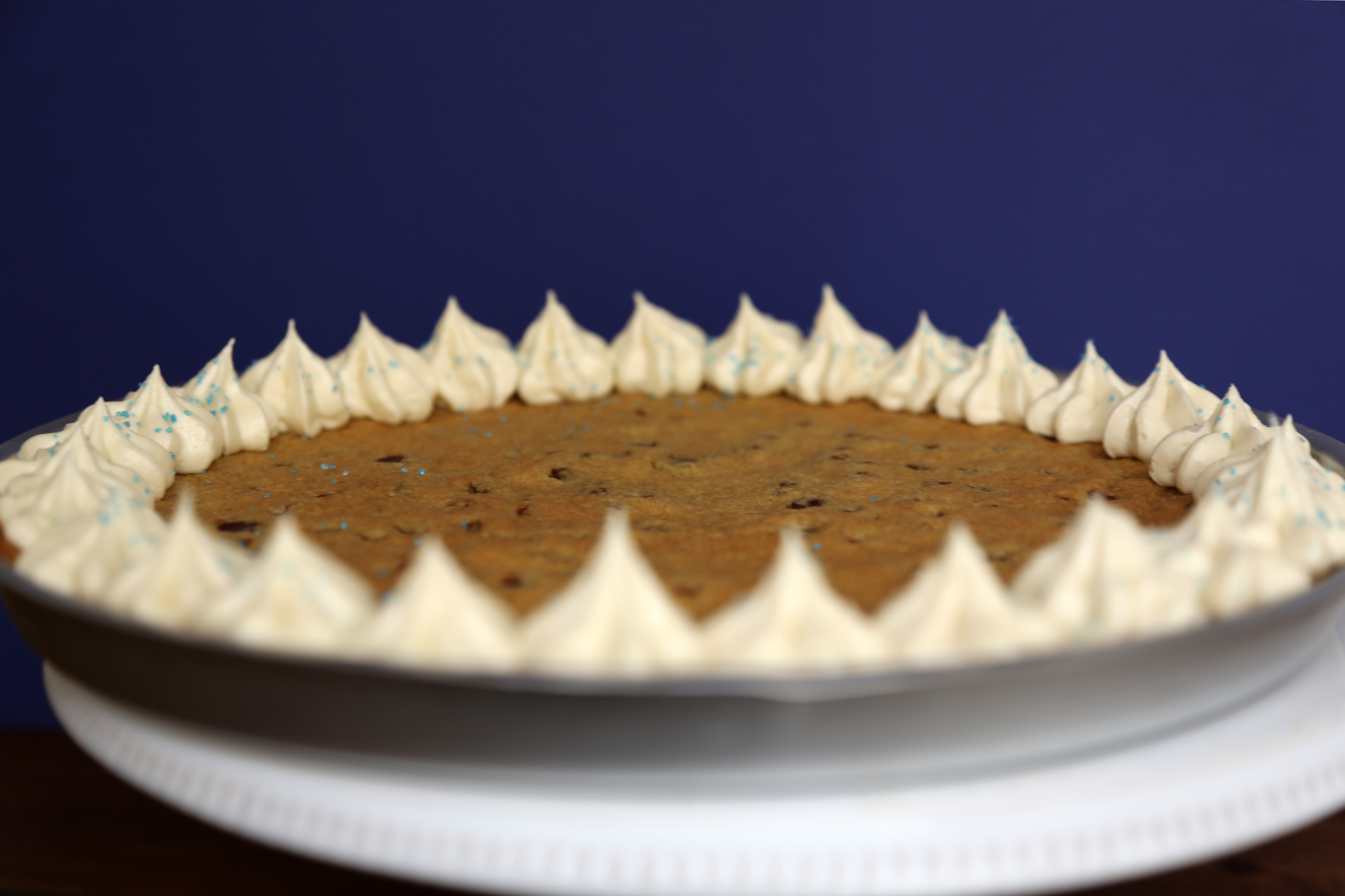Chocolate Chip Cookie Cake Recipe | POPSUGAR Food