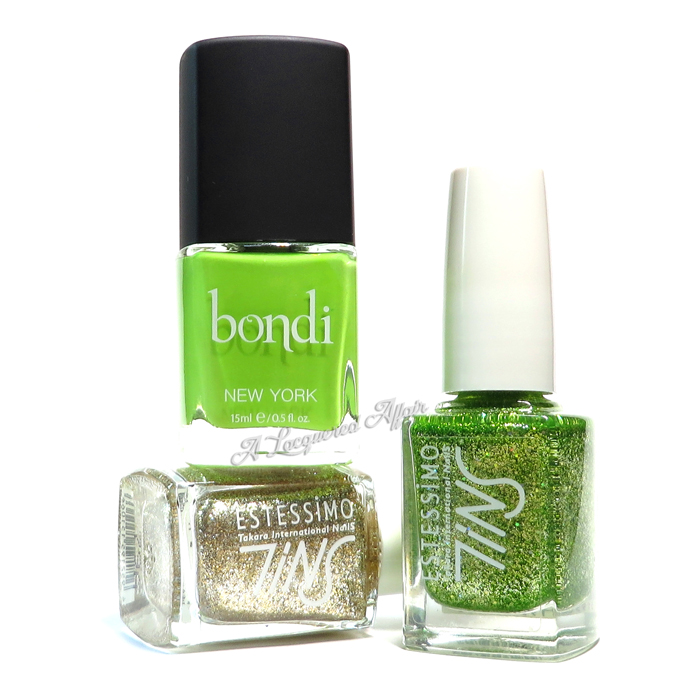 Polishes for Peridot-inspired Manicure