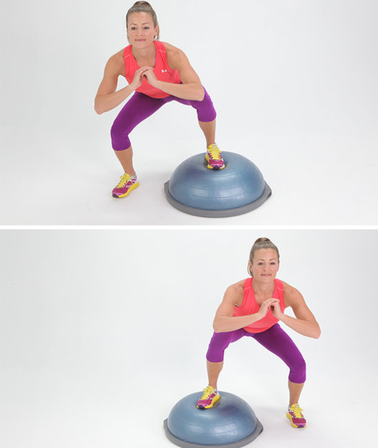 Stability Ball Side Lift: 5-Minute Plyometric Workout