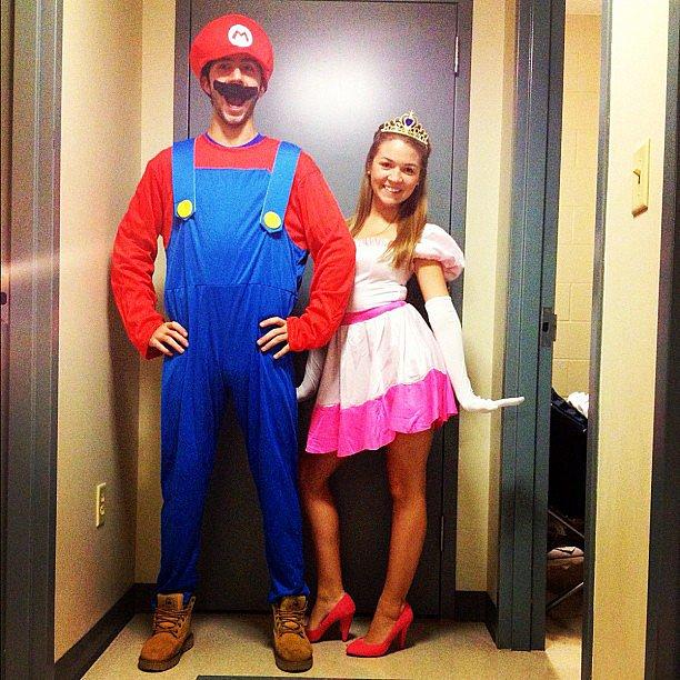 Mario and Princess Peach