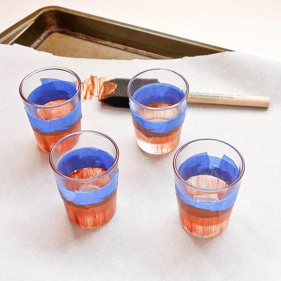 Diy Dipped Shot Glasses Popsugar Smart Living