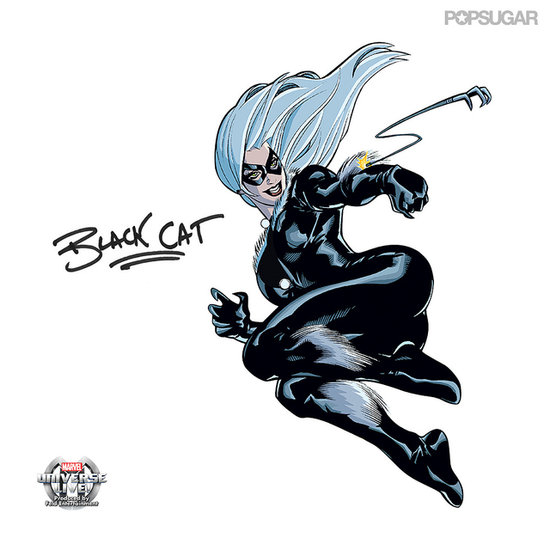 Black Cat Marvel Universe LIVE