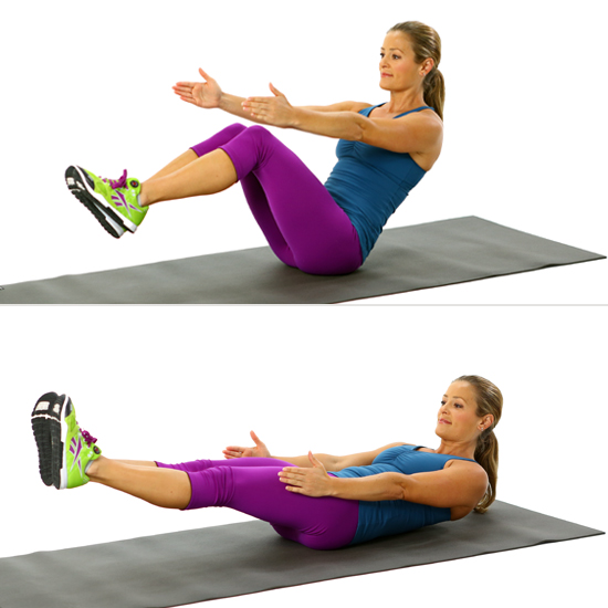 How To Do V Sits Popsugar Fitness