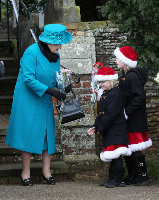 Royal Christmas In Sandringham Popsugar Celebrity