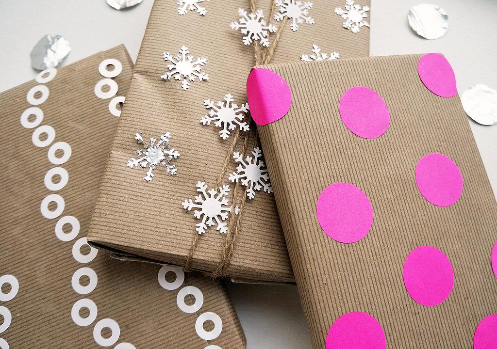Kraft Paper Gift Wrap Ideas Popsugar Smart Living