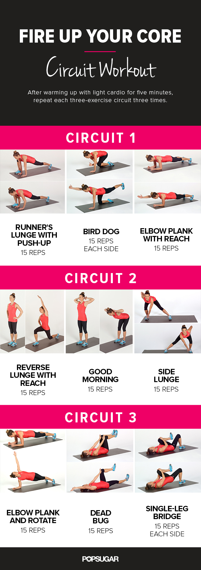 Clean image in printable ab workout