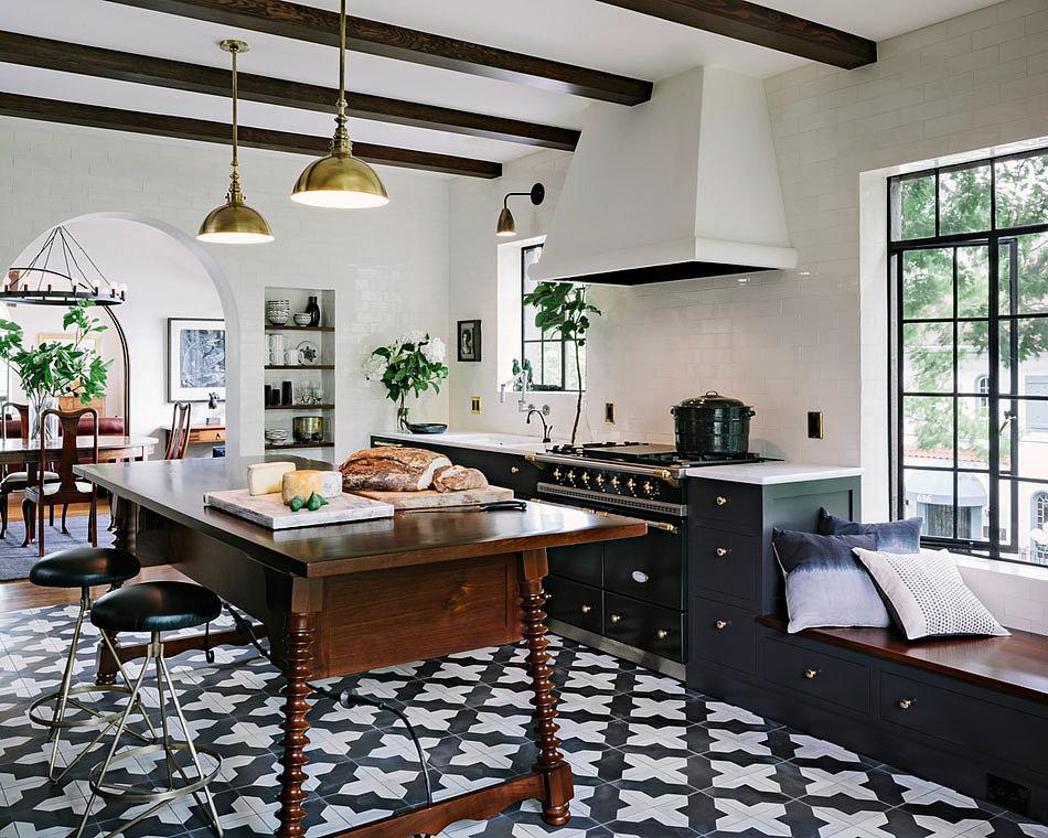 Modern Mediterranean Kitchen   POPSUGAR Home