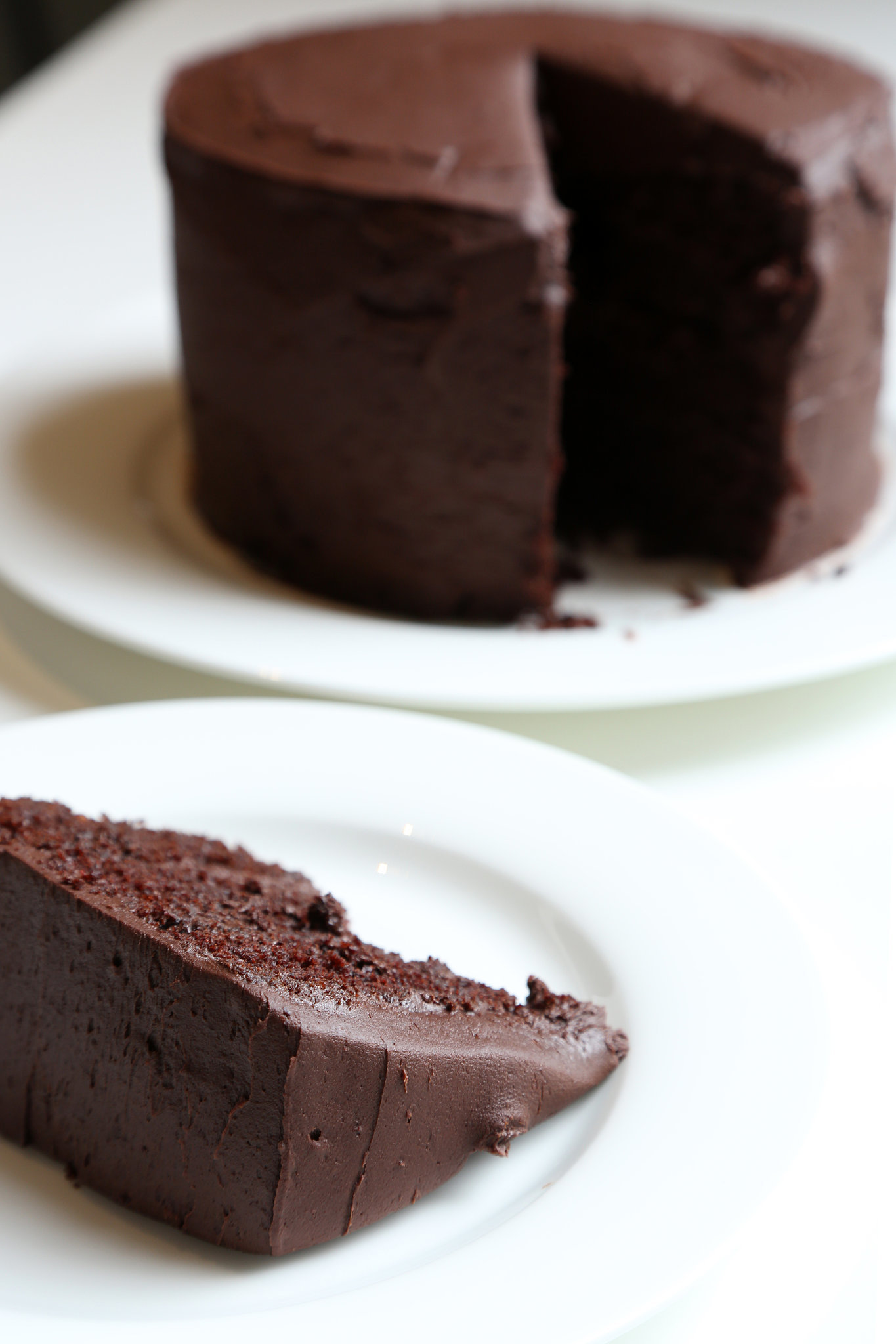Chocolate Cake With Chocolate Buttercream Recipe | POPSUGAR Food