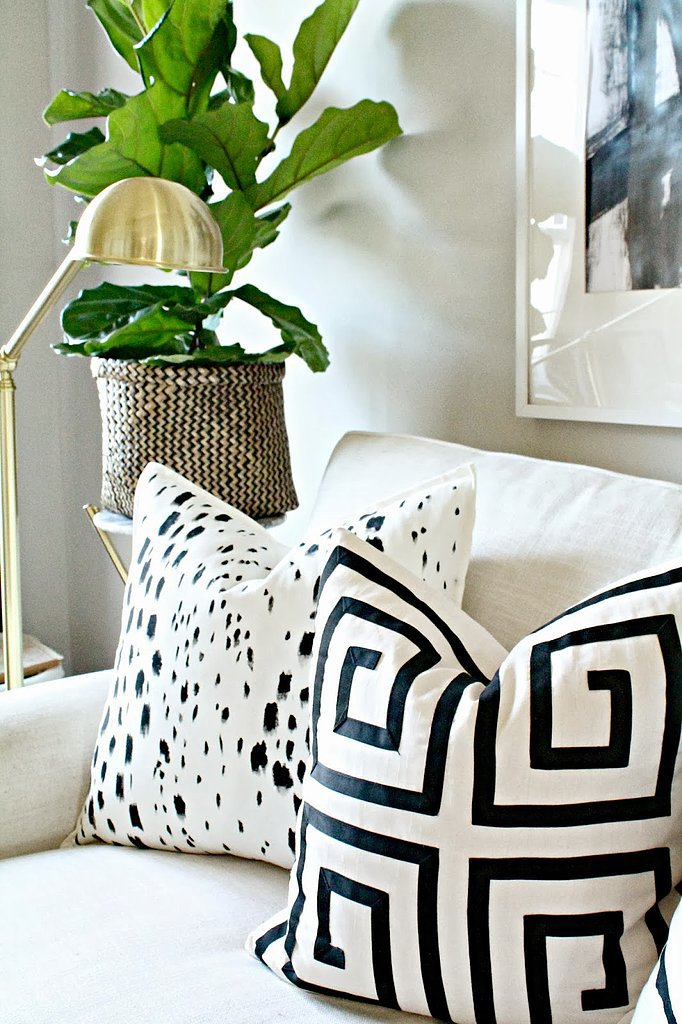 Painted Pillow Diy Popsugar Home