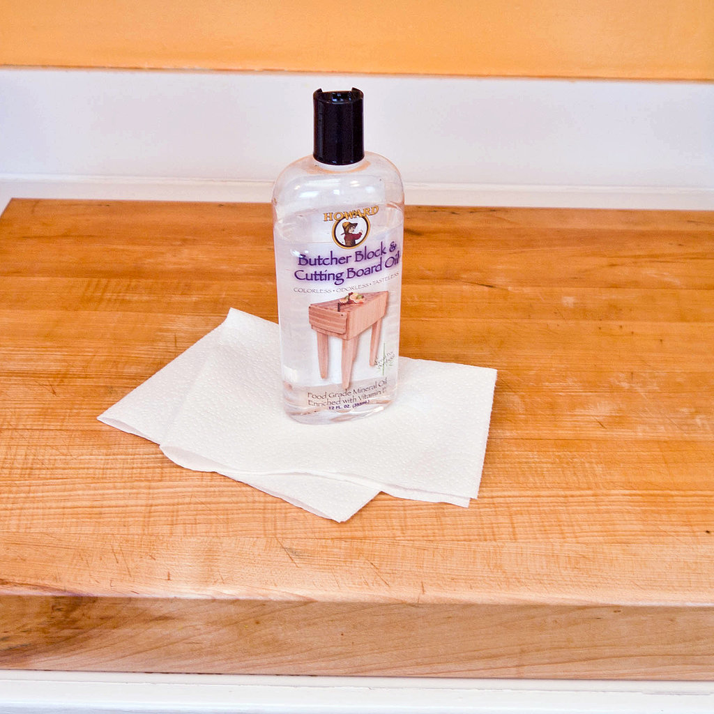 wooden cutting board how to clean