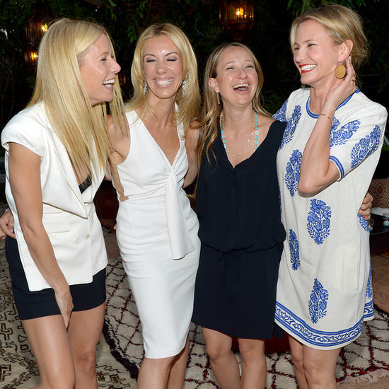 Gwyneth Paltrow and Chris Martin at Goop Event After Split