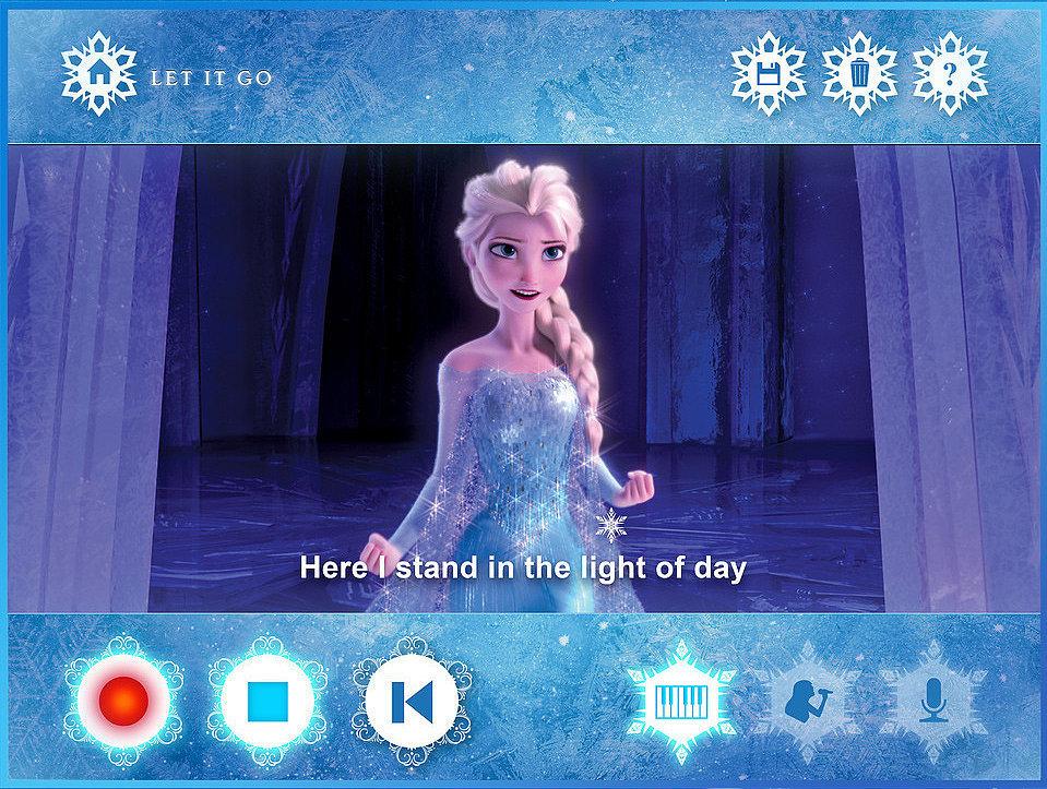 Disney's New Frozen Karaoke App Brings All of the Sing-Along Fun Home