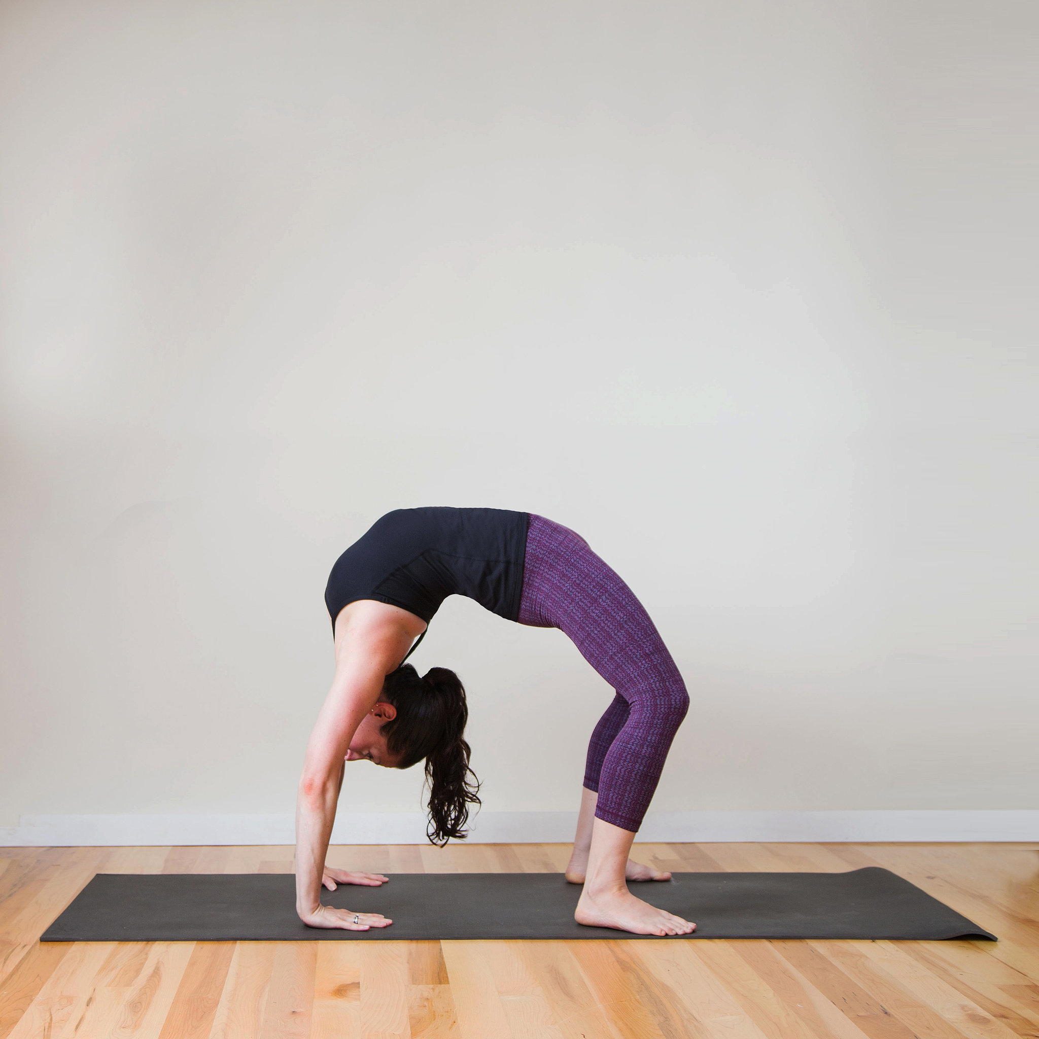 How To Do A Drop Back In Yoga Popsugar Fitness