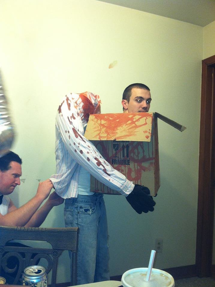 Decapitated Man