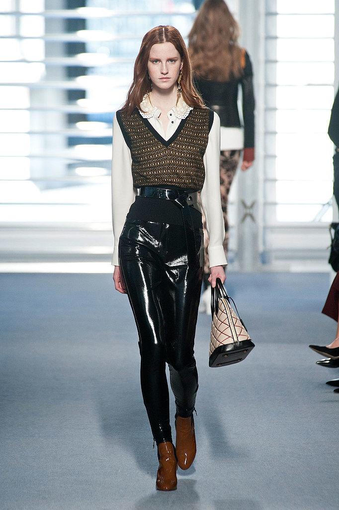 Victoria Beckham's Louis Vuitton Vest Street Style | POPSUGAR Fashion