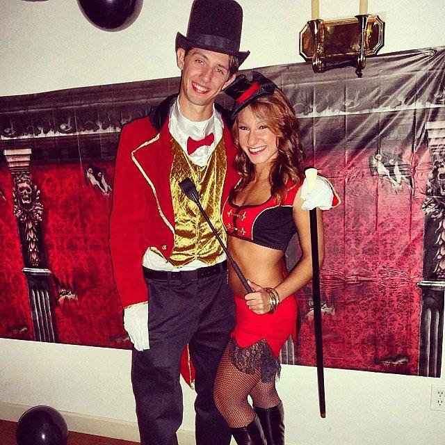 Ringmaster and Circus Performer