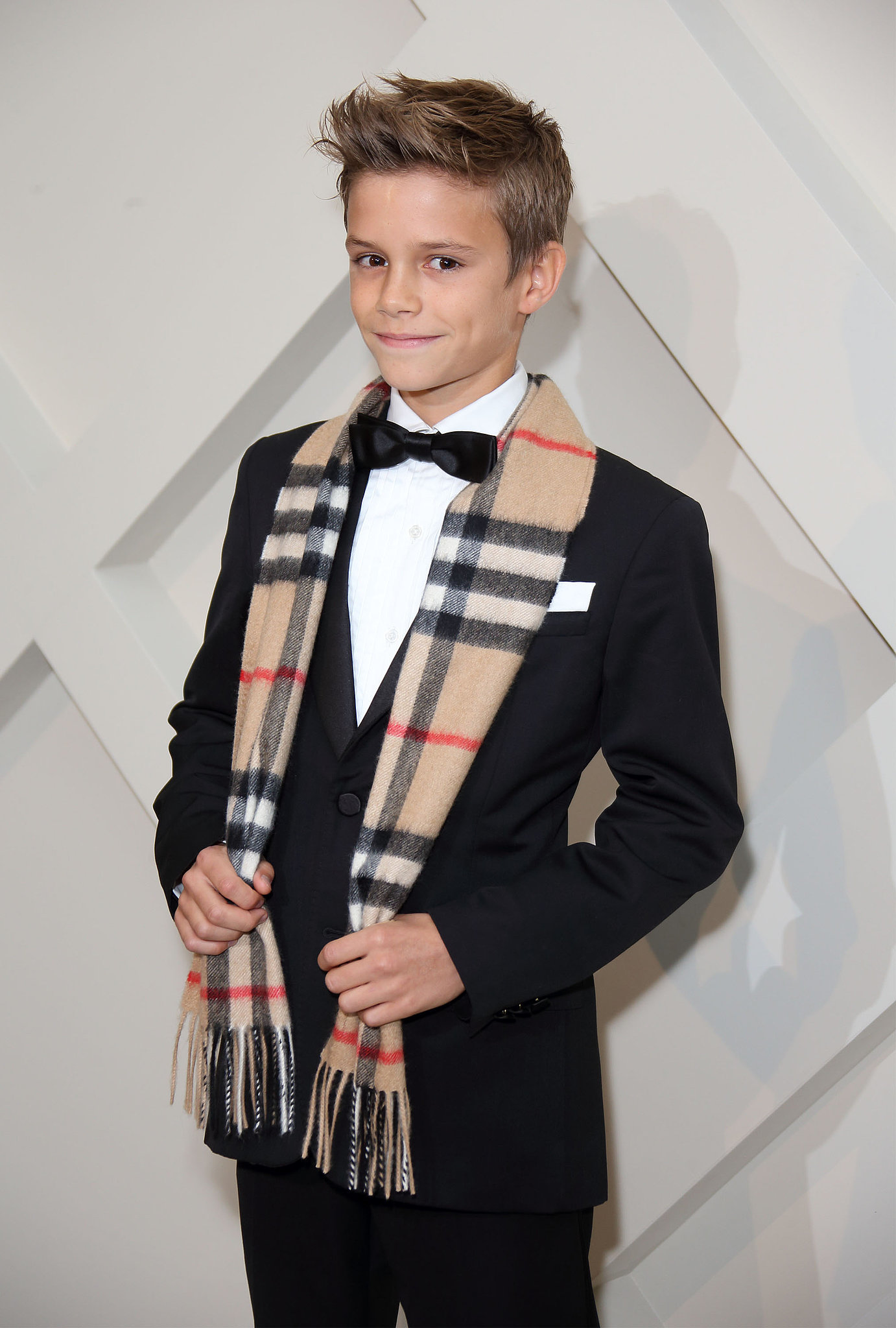 And More Campaign Images with Romeo Beckham