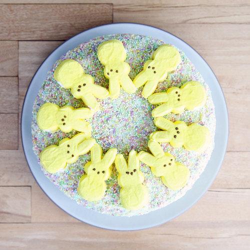 Peeps Funfetti Cake