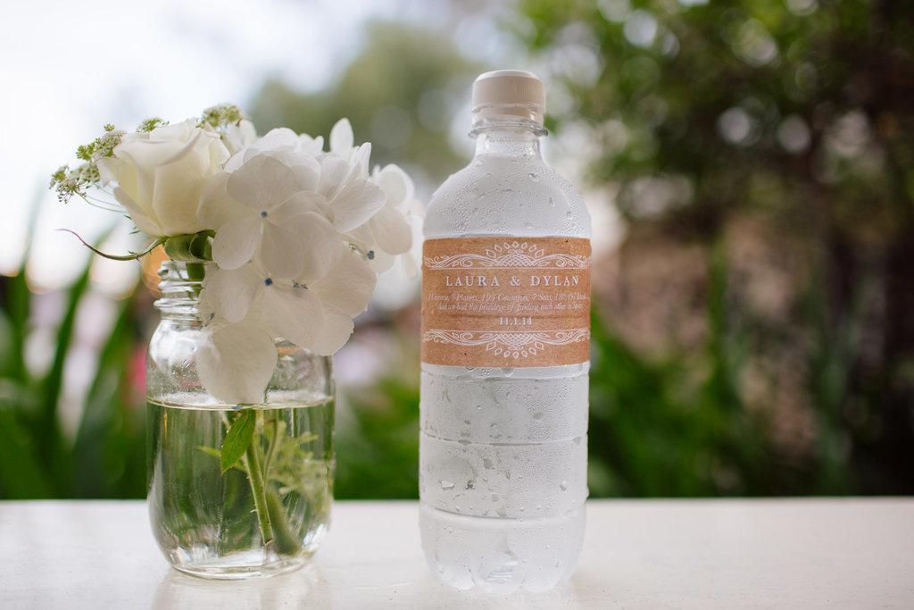 Água lembrancinha de casamento