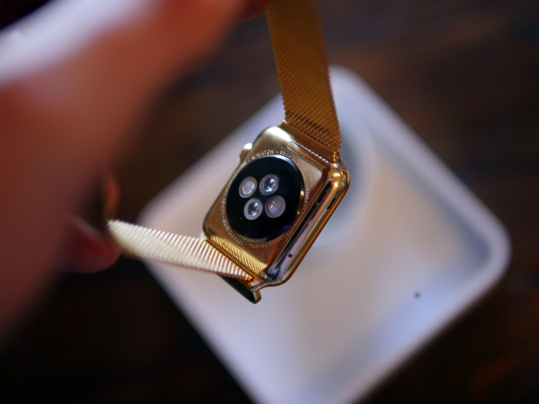 GoldPlated Apple Watch Service POPSUGAR Tech