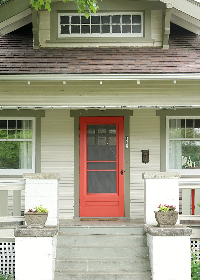 What paint colors to use on your front door popsugar home Dark green front door paint