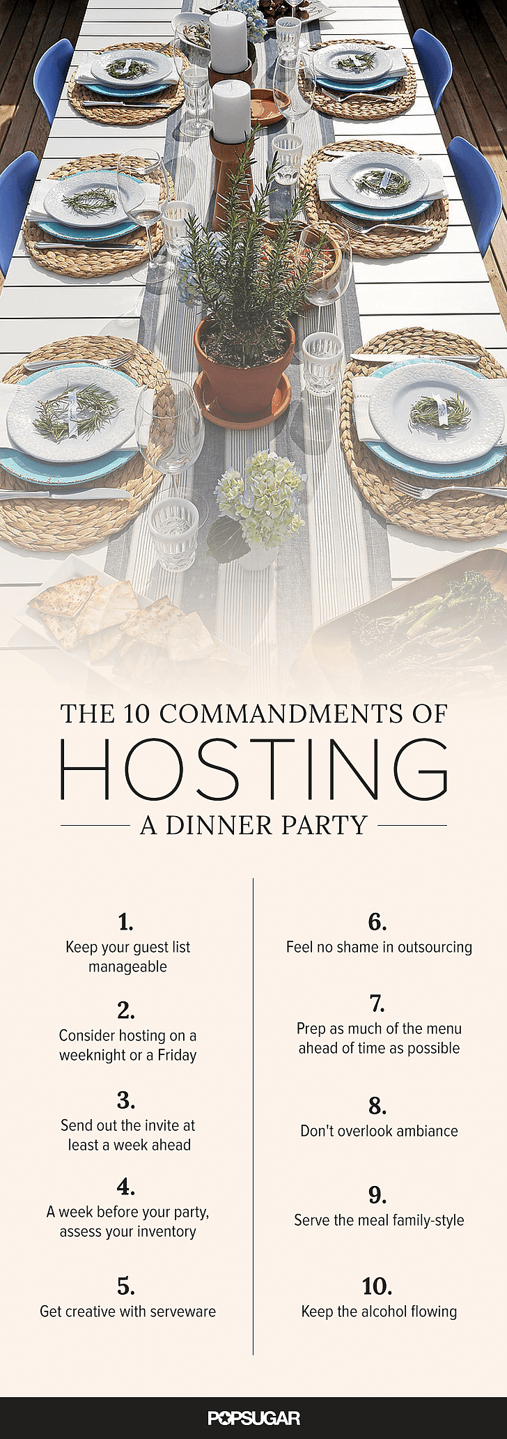 Hosting A Dinner Party how to host a dinner party | popsugar food