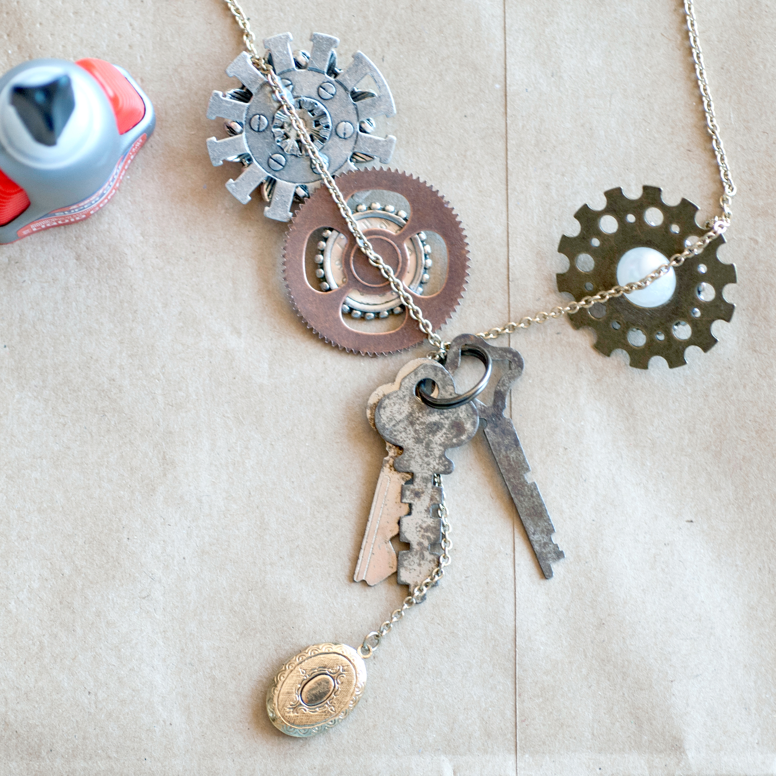 how to make your own steampunk jewelry