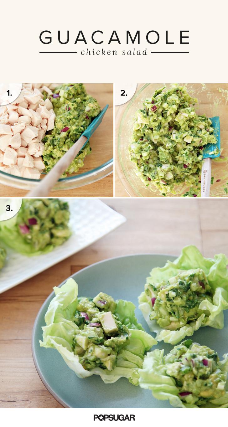 Guacamole chicken salad recipe popsugar food share this link forumfinder Images