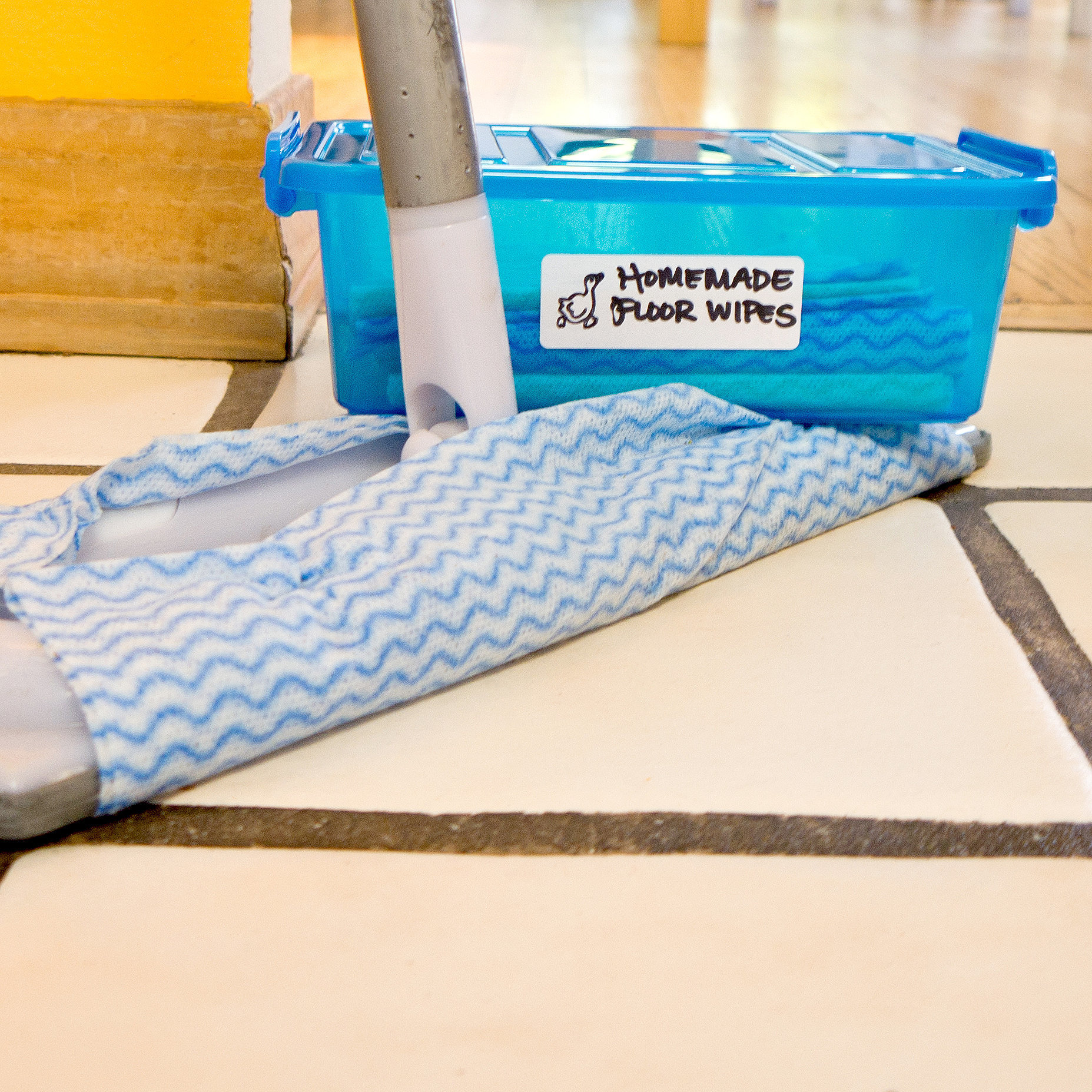 Homemade Reusable Floor Wipes Popsugar Smart Living