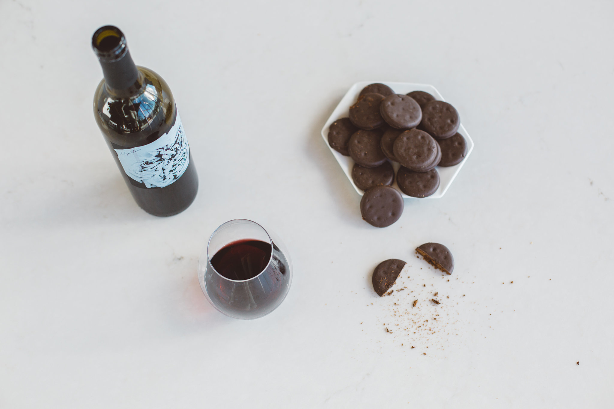 best girl scout cookie and wine pairings popsugar food