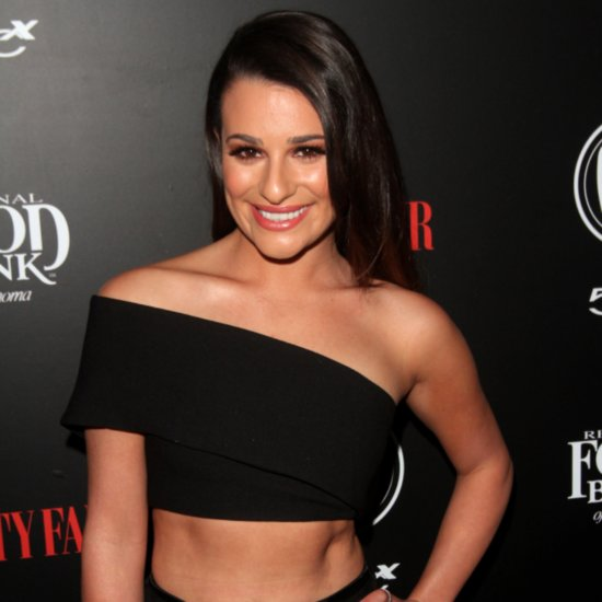 Lea Michele Vanity Fair Young Hollywood Party February 2016