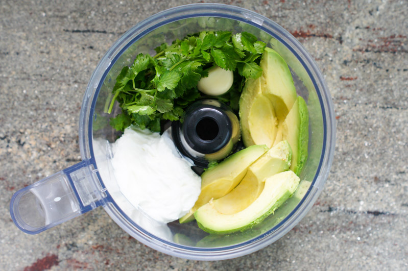 Black Bean Salad With Avocado Dressing Recipe | POPSUGAR ...