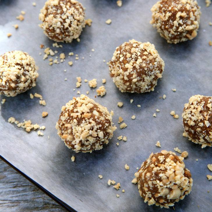 Peanuts Kiss And Makeup: Salted Peanut Protein Balls