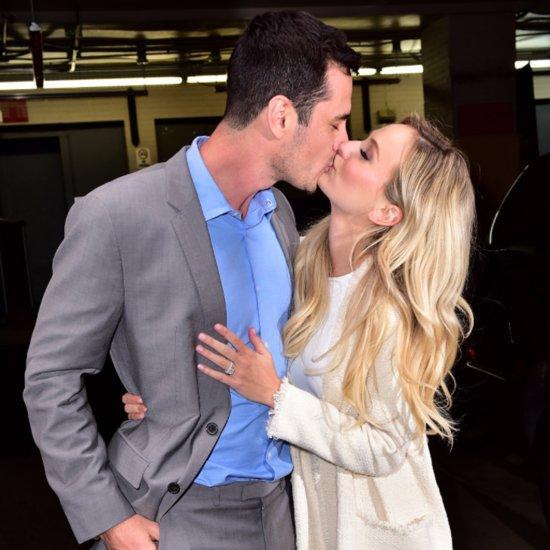 Ben Higgins Lauren Bushnell Kiss in NYC March 2016