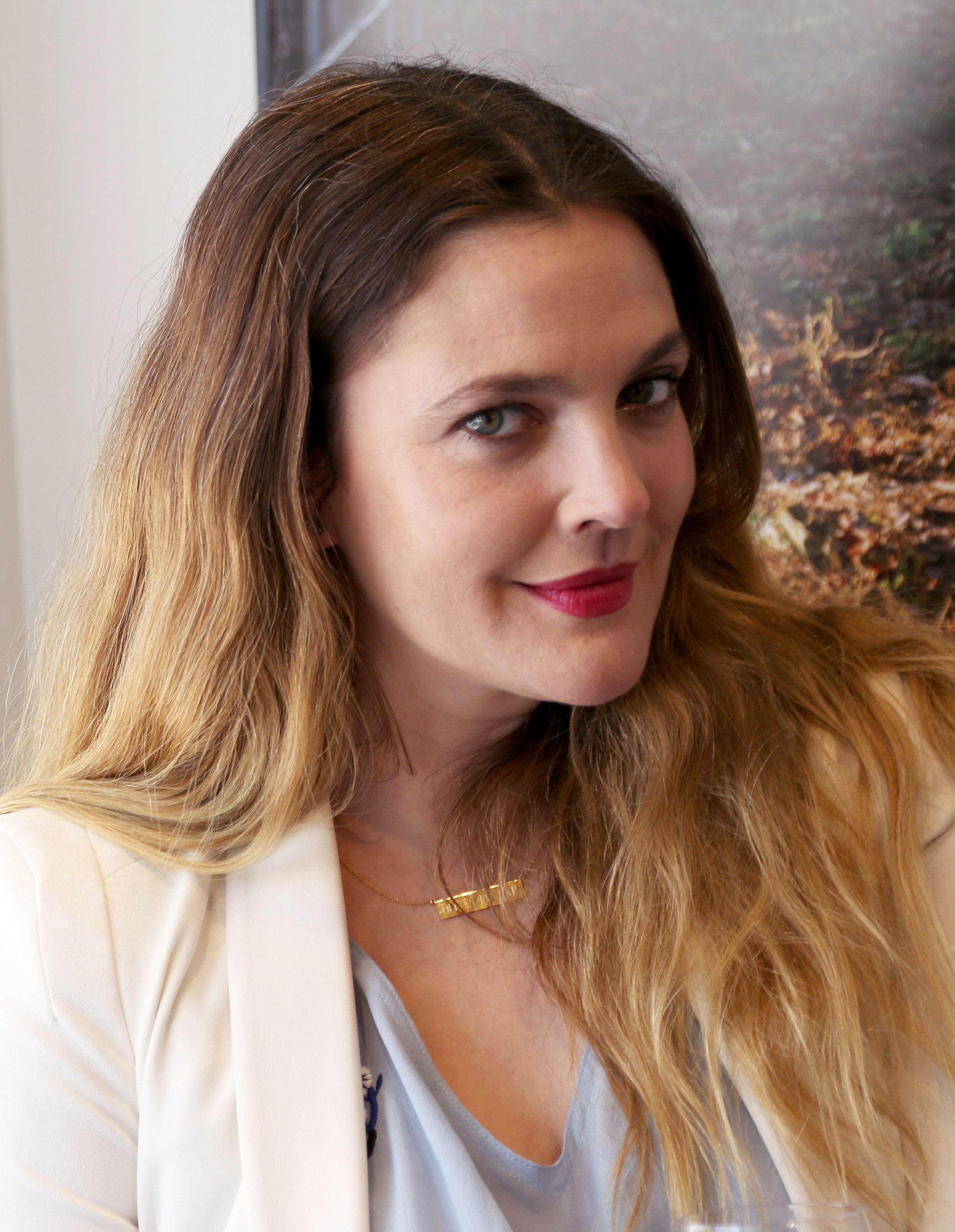 Drew Barrymore's Makeup April 2016 | POPSUGAR Beauty Drew Barrymore