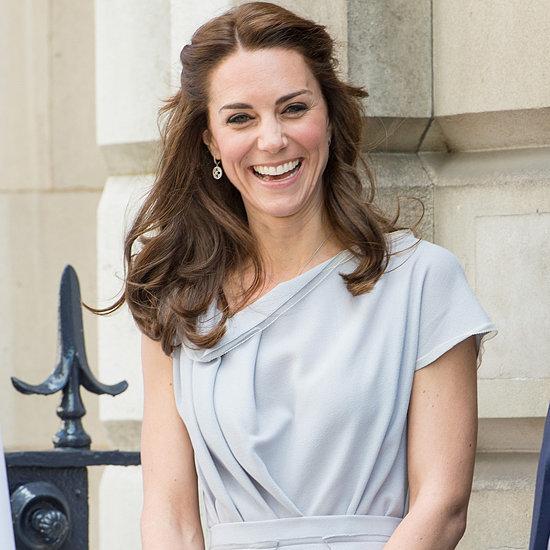 Kate Middleton Blue Roksanda Ilincic Dress May 2016