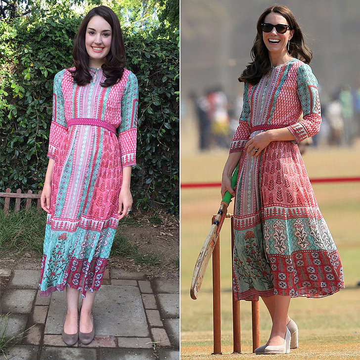 This Girl Jumps Through Hoops Just to Copy Kate Middleton's Outfits