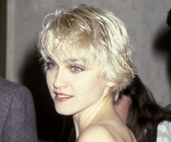 haircut for thin hair madonna hair timeline popsugar australia 9658