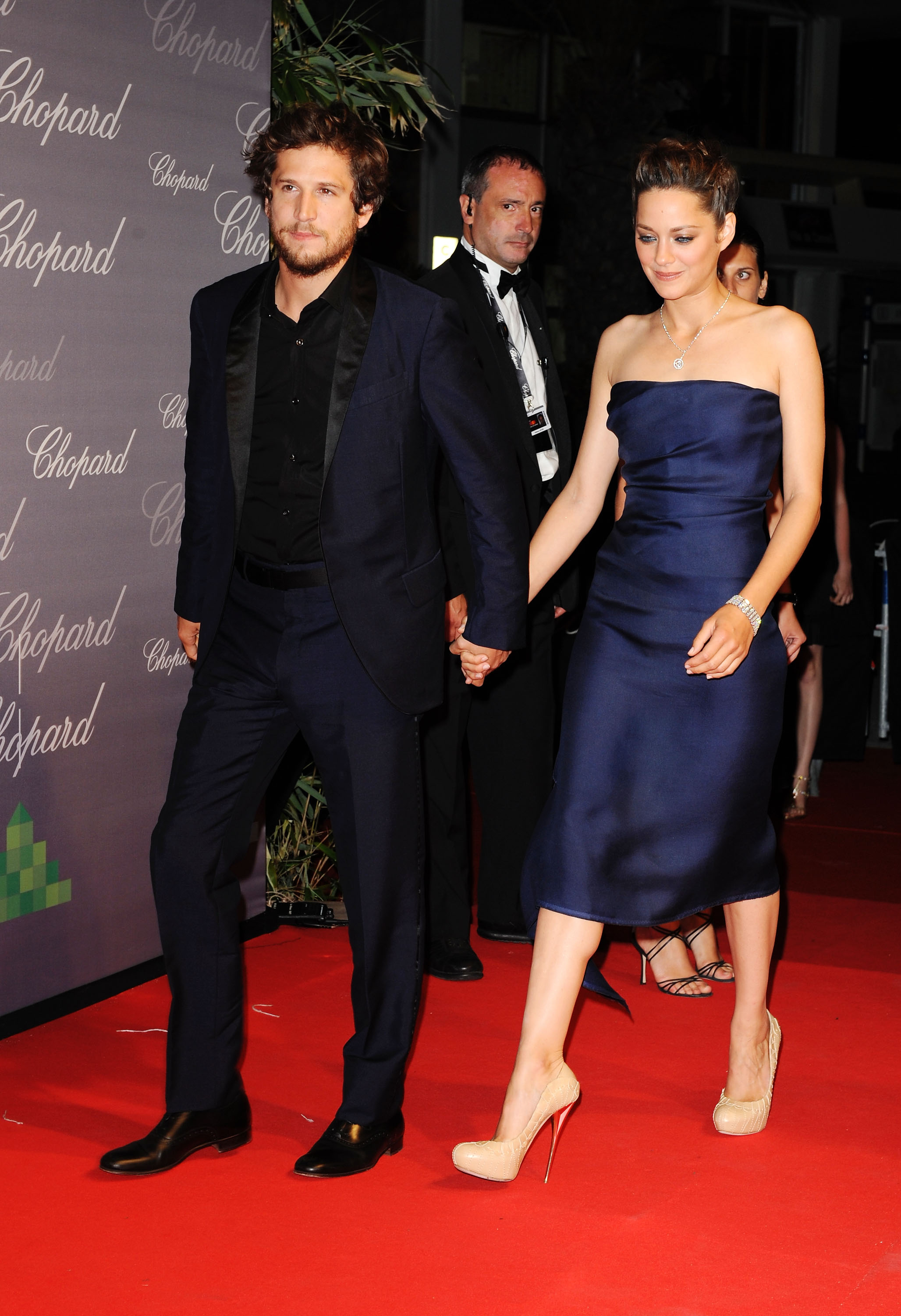 Red Carpet Photos of Marion Cotillard and French Boyfriend ...