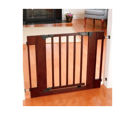 The First Years Wood Home Décor Wood Gate