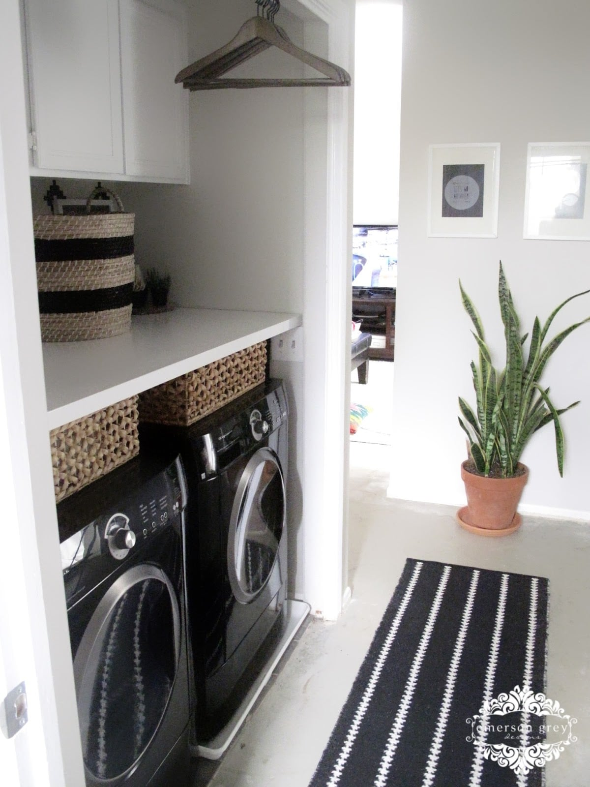 Laundry Room Makeover Before And After Decor
